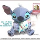 BIG Stitch hugging Scrump Disney Sega Japan