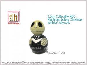 NBC Nightmare before Christmas tumbler/Rolly polly Disney Sega Japan