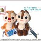 Chip and Dale cutie series pair Disney Sega Japan