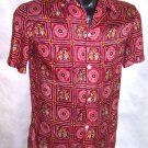 Men's Red Taj Mahal Hotel Bombay Shirt