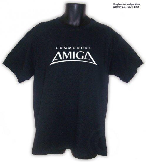 Amiga Commodore RETRO Hacker T-Shirt Black S, M, L, XL, 2XL
