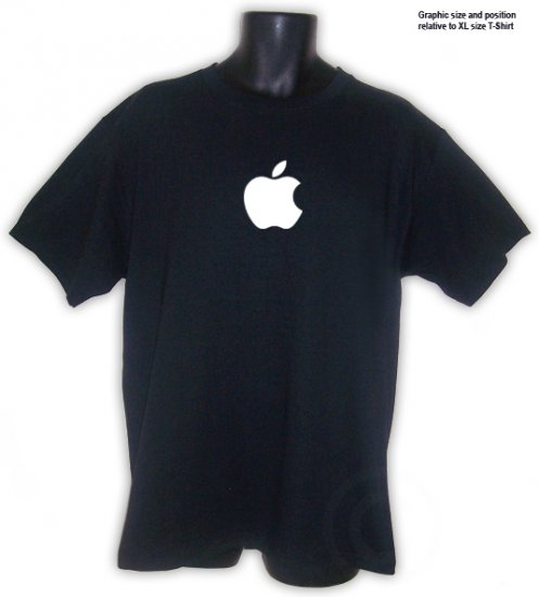 Apple Computer Geek T-Shirt S, M, L, XL ~ FREE SHIPPING