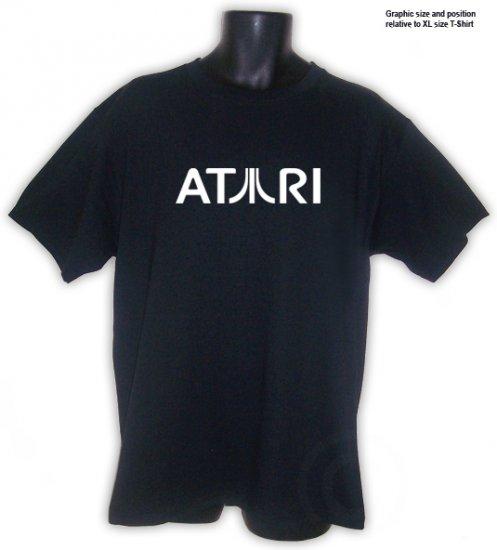 ATARI Retro Classic Video Game T-Shirt Black S, M, L, XL, 2XL