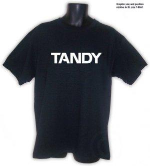 Tandy TRS-80 Vintage Personal Computer T-shirt Black S, M, L, XL, 2XL