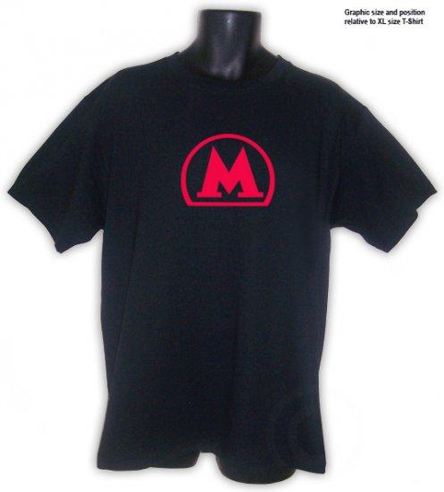 Moscow Metro Subway Fan T-Shirt Black S, M, L, XL, 2XL