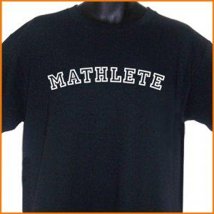MATHLETE Geek BLACK T-Shirt 2XL ~  FREE SHIPPING