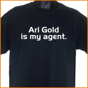 Ari Gold Is My Agent T-Shirt  2XL ~  FREE SHIPPING