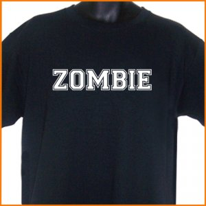 ZOMBIE COLLEGE TEAM ROB  T-Shirt S, M, L, XL ~  FREE SHIPPING