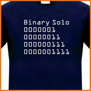 Binary Solo (Flight of the Conchords) t-shirt Tee S, M, L, XL, 2XL