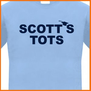 SCOTT'S TOTS T-shirt Michael funny office Tee S, M, L, XL