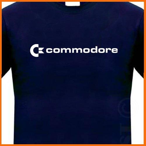 COMMODORE 64 T-shirt C-64 80s Retro COMPUTER GEEK Tee S- 2xl
