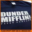 Dunder Mifflin Paper Company The Office T-shirt Shirt S -XL