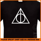 Deathly Hallows Symbol Harry Potter NEW T-shirt S -2XL