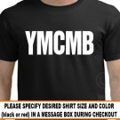 Ymcmb Shirt Young Money Lil Wayne Weezy Rap RED BLACK T-shirt S-XL