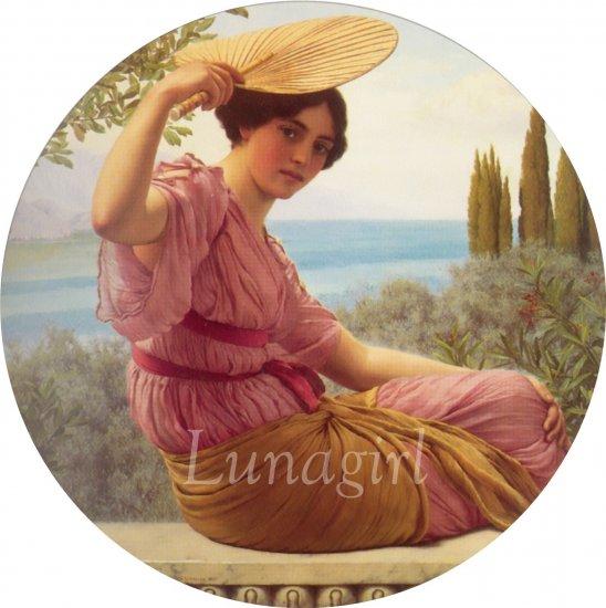 VICTORIAN NEOCLASSICAL ART CD - Godward Alma-Tadema Leighton images paintings