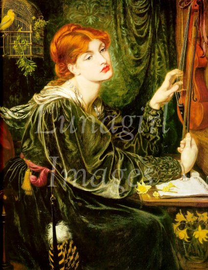 PRE-RAPHAELITE ART CD - 300+ images Rossetti Waterhouse paintings women
