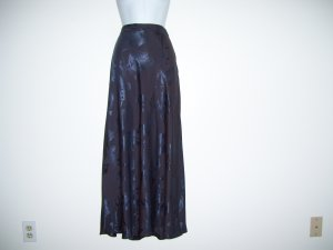 $128.00 Charcoal Silk Skirt, Banana Republic, 12, NWT!