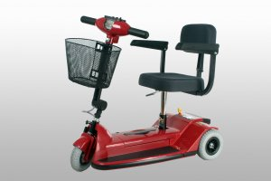 Zip'r 3 Wheel Travel Scooter - FREE Ship - Truly portable - 4 pieces - Heaviest piece only 29 lbs.