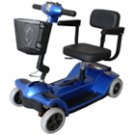 Zip'r 4 Wheel Travel Scooter - FREE Ship - Truly portable - 4 pieces - Heaviest piece only 29 lbs.