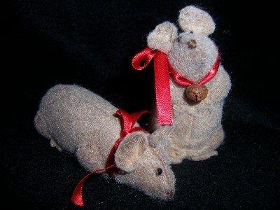 Primitive Pair of Spring Mice