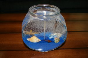 FISH BOWL CANDLE