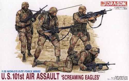 U.S. 101st AIR ASSAULT 'SCREAMING EAGLES' - 1/35 DML Dragon 3011