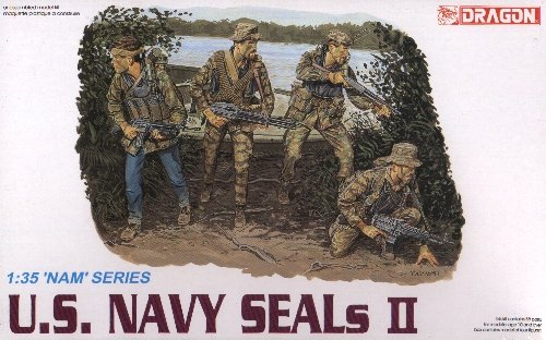 U.S. NAVY SEALS II - 1/35 DML Dragon 3316