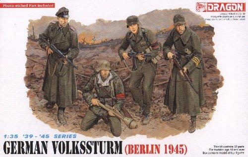 GERMAN VOLKSSTURM BERLIN 1945 - 1/35 DML Dragon 6020