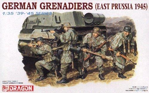 GERMAN GRENADIERS EAST PRUSSIA 1945 - 1/35 DML Dragon 6057