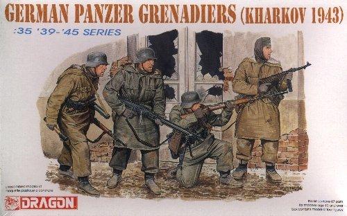 GERMAN PANZER GRENADIERS KHARKOV 1943 - 1/35 DML Dragon 6059