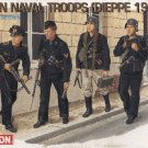 GERMAN NAVAL TROOPS DIEPPE 1942 - 1/35 DML Dragon 6087