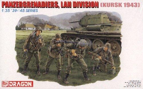 PANZERGRENADIERS LAH DIVISION KURSK 1943 - 1/35 DML Dragon 6159