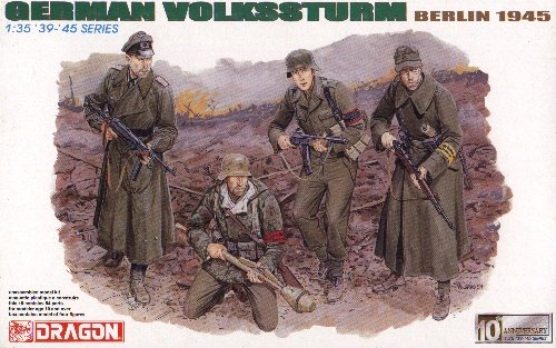 GERMAN VOLKSSTURM BERLIN 1945 - 1/35 DML Dragon 6173