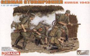 GERMAN STURMPIONIER KURSK 1943 - 1/35 DML Dragon 6174