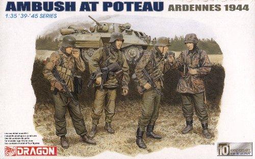 AMBUSH AT POTEAU ARDENNES 1944 - 1/35 DML Dragon 6176