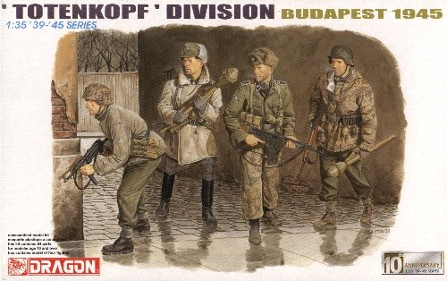 TOTENKOPF DIVISION BUDAPEST 1945 - 1/35 DML Dragon 6178