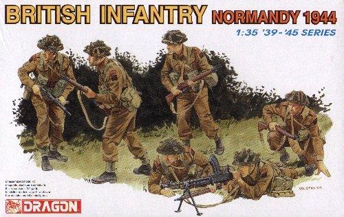 BRITISH INFANTRY NORMANDY 1944 - 1/35 DML Dragon 6212