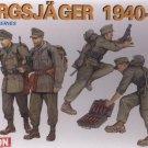 GEBIRGSJAGER 1940-1941 - 1/35 DML Dragon 6345