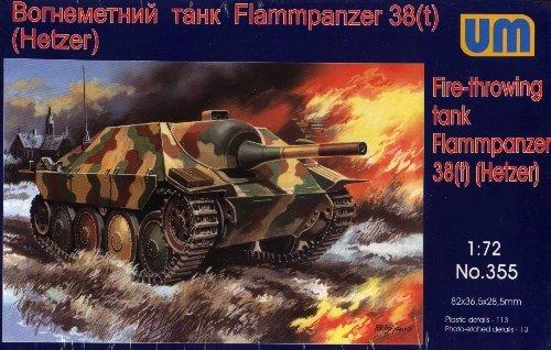FLAMMPANZER 38(t) HETZER - 1/72 UM UniModels 355