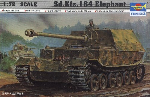 ELEFANT - 1/72 Trumpeter 7204