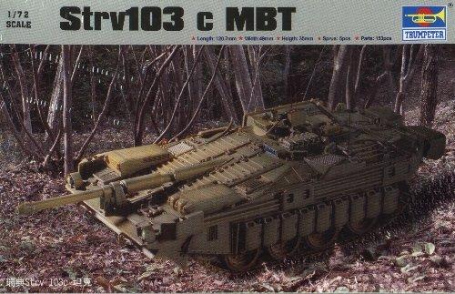 Strv 103C S-Tank - 1/72 Trumpeter 7220