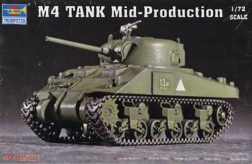 M4 SHERMAN MID PRODUCTION - 1/72 Trumpeter 7223