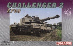 CHALLENGER 2 KFOR - 1/72 DML Dragon 7222