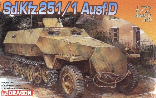 SdKfz 251/1 AUSF D - 1/72 DML Dragon 7225