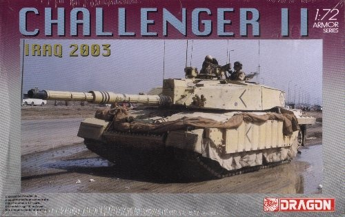 CHALLENGER II Iraq 2003 - 1/72 DML Dragon 7228