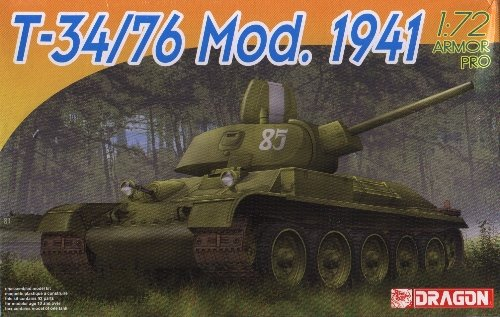 T-34/76 Model 1941 - 1/72 DML Dragon 7259