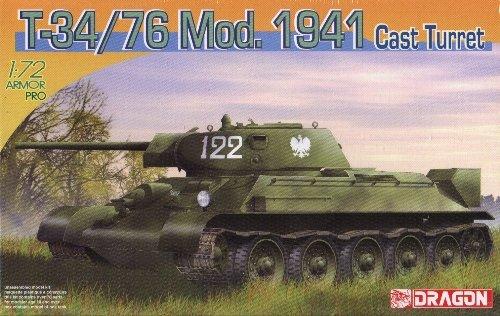 T-34/76 Model 1941 CAST TURRET - 1/72 DML Dragon 7262