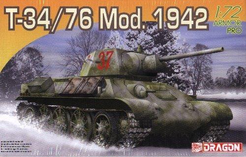 T-34/76 Model 1942 - 1/72 DML Dragon 7266