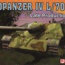 JAGDPANZER IV L/70 LATE PRODUCTION - 1/72 DML Dragon 7293