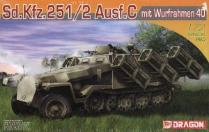 SdKfz 251/2 AUSF C mit WURFRAHMEN 40 - 1/72 DML Dragon 7306